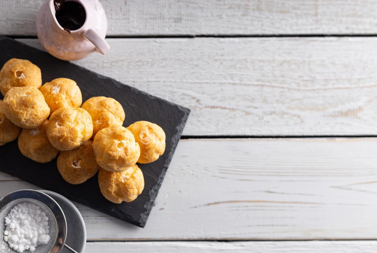 bignè con la crema pasticciera: ricette senza glutine e senza lattosio