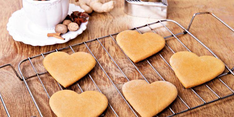 biscotti allo zenzero: ricetta light