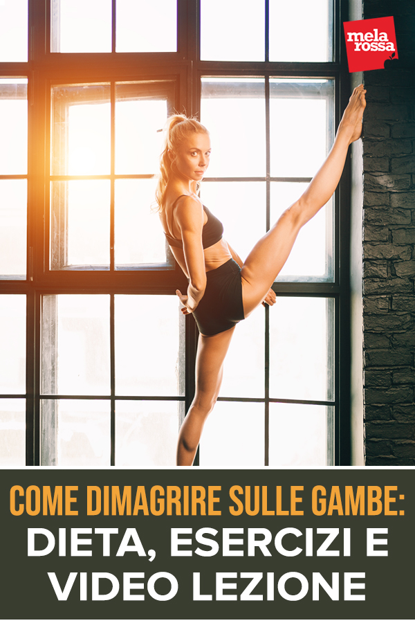 come dimagrire le gambe