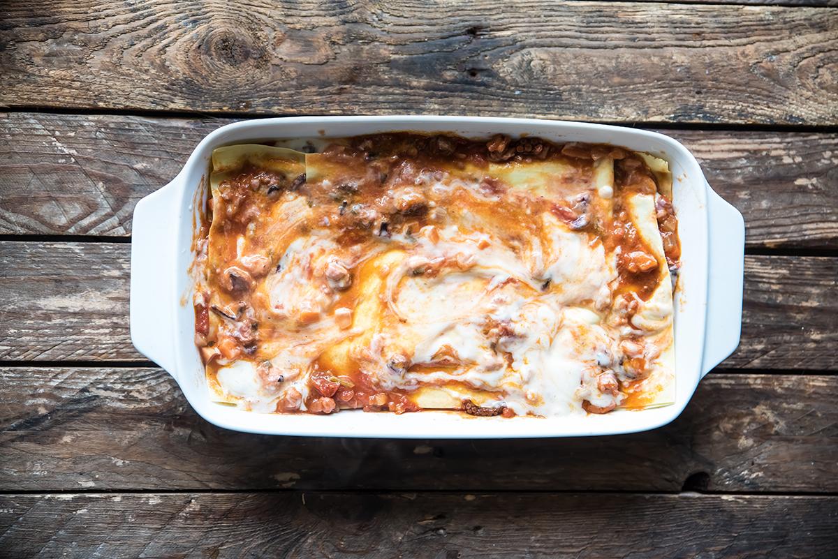 come preparare le lasagne al ragu di polpo inforna la lasagna