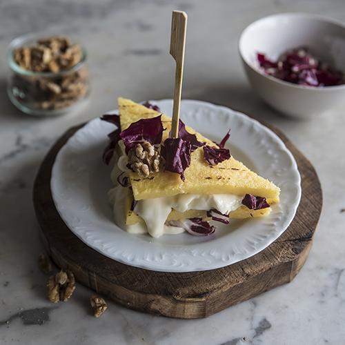 crostini di polenta ricetta