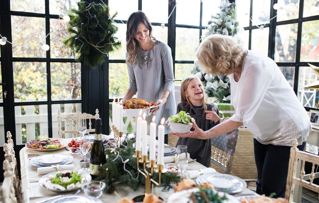 Le ricette light e senza glutine per le feste di Natale.