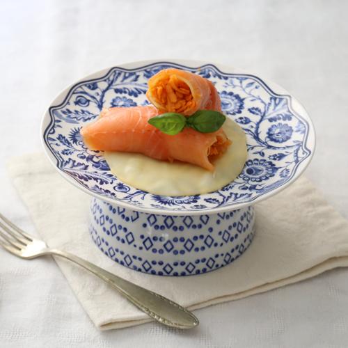 Veloci da preparare, gli involtindi di salmone sono, light e senza glutine.