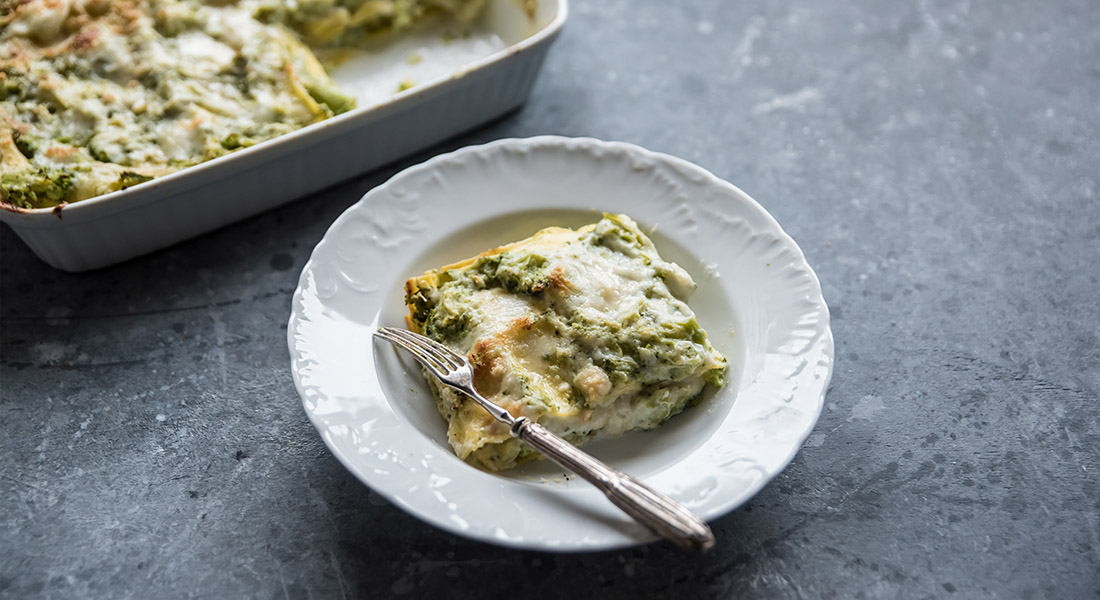 lasagne con broccoli