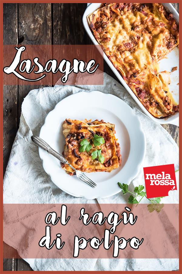 lasagne con ragù di polpo