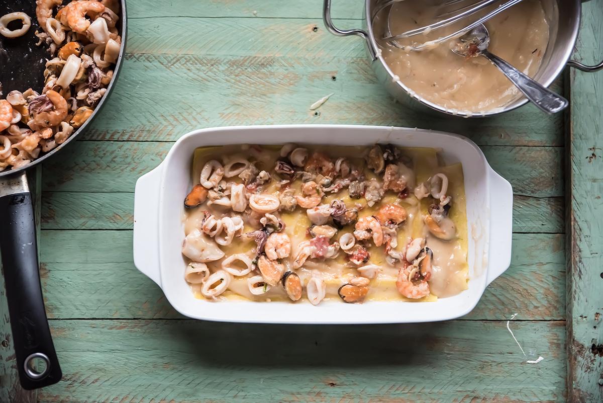 lasagne di pesce al forno