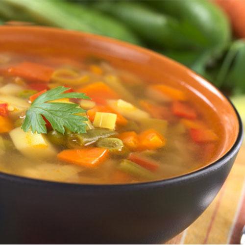 minestra di verdure con pasta