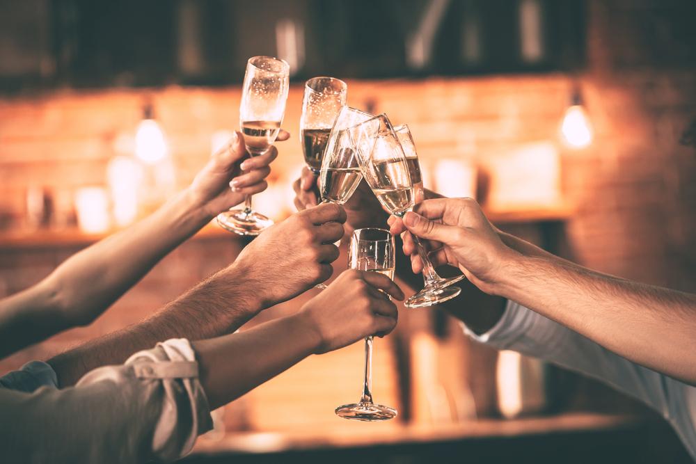 non ingrassare a natale champagne
