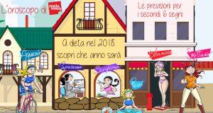 L'oroscopo 2018 per la dieta: i sei secondi segni