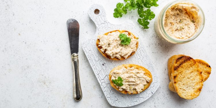 patè di salmone con lo yogurt greco