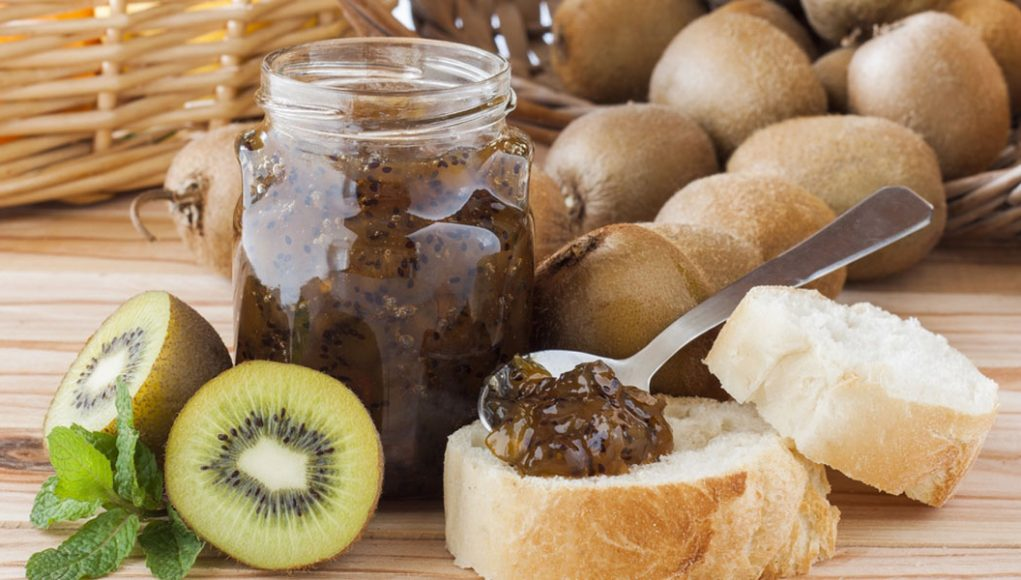 regali fai-da-te: marmelata kiwi e pere