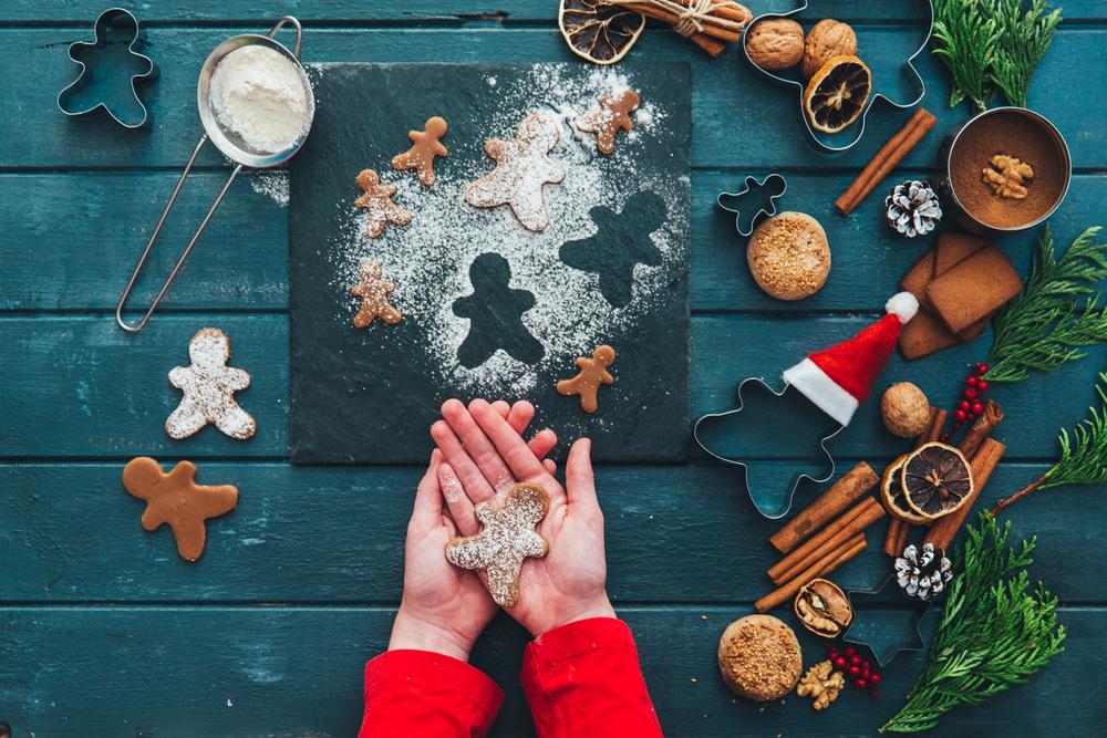 ricette biscotti di Natale sani