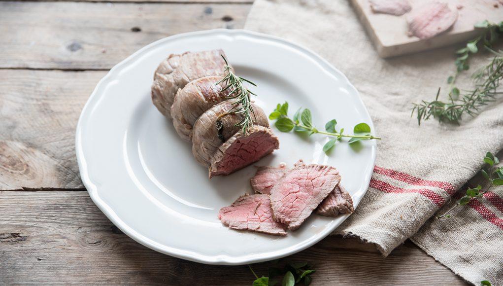 I secondi light per Natale: roast beef all'inglese