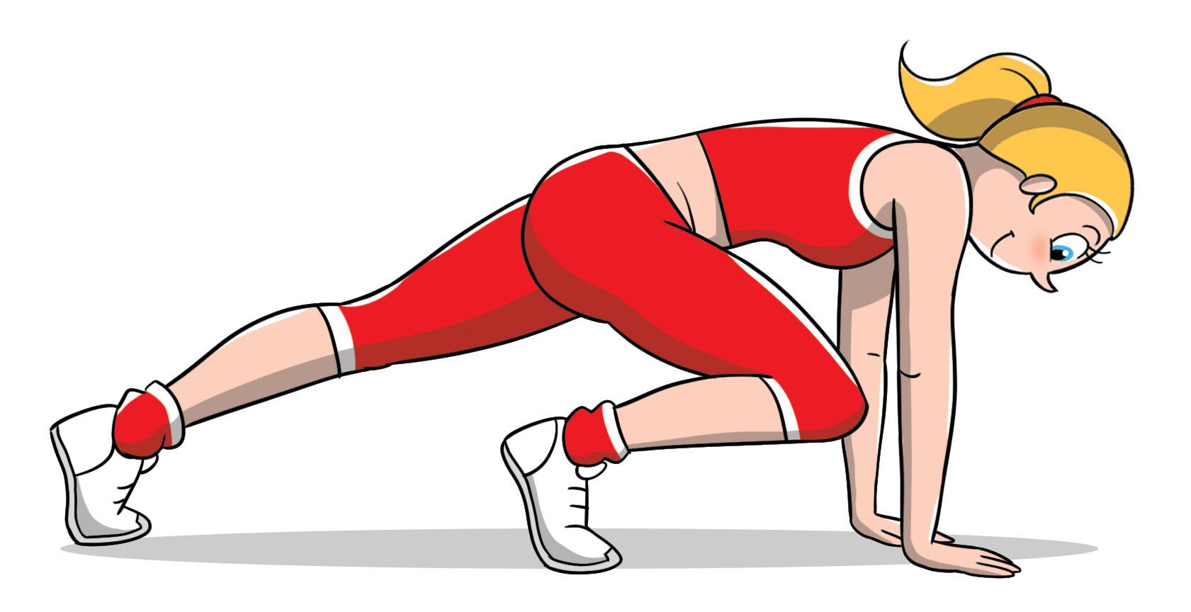 allenamento brucia grassi con la sedia: