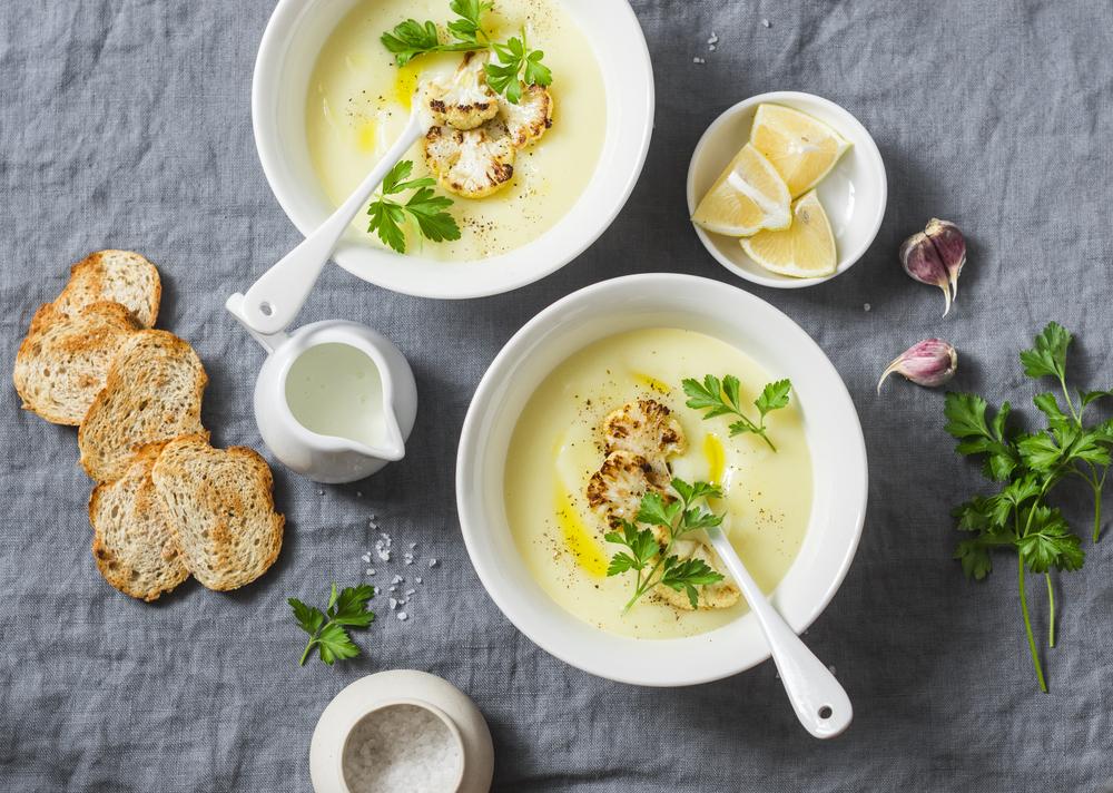 cavolfiore, zuppa