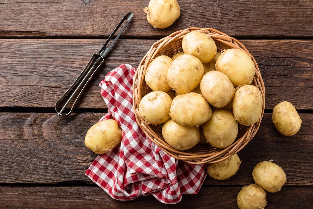 I cibi ricchi di collagene: le patate