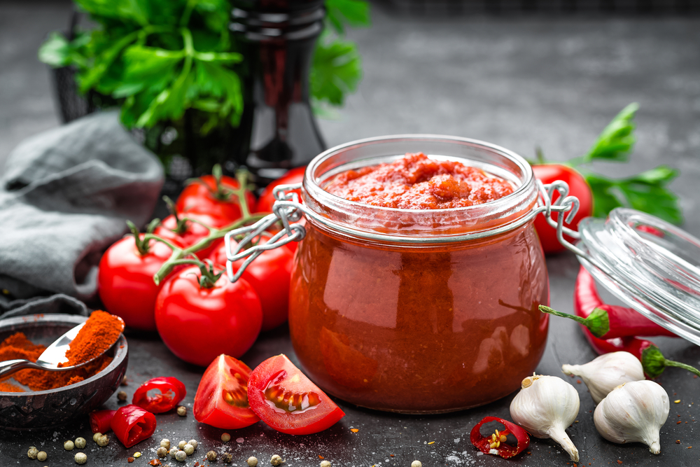 I cibi ricchi di collagene: pomodori