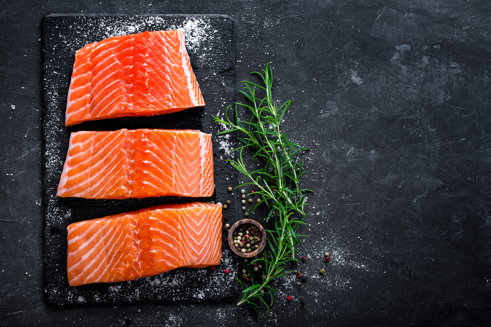 Cibi ricchi di collagene: il salmone