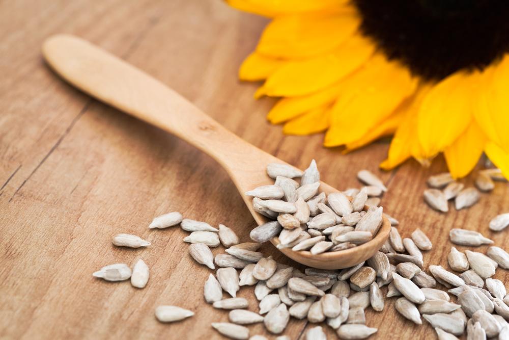 I cibi ricchi di collagene: semi di girasole