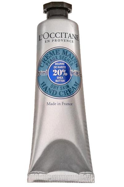 Cura della pelle: crema mani L'Occitane