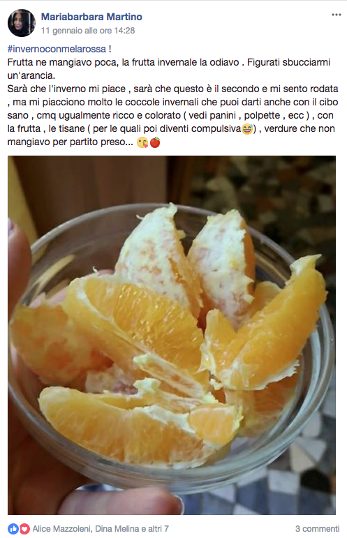 dieta in inverno con la frutta e la verdura