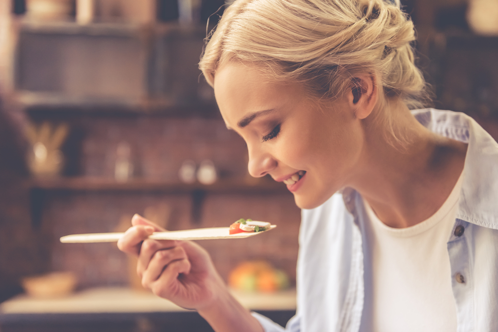 dieta vegetariana, assaggiare