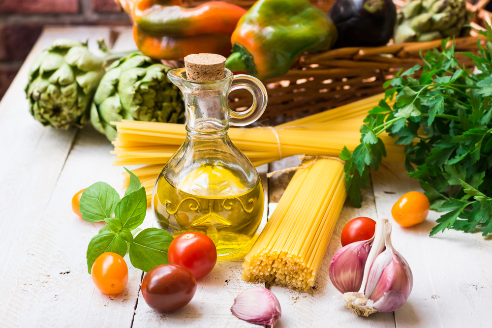dieta vegetariana, è mediterranea