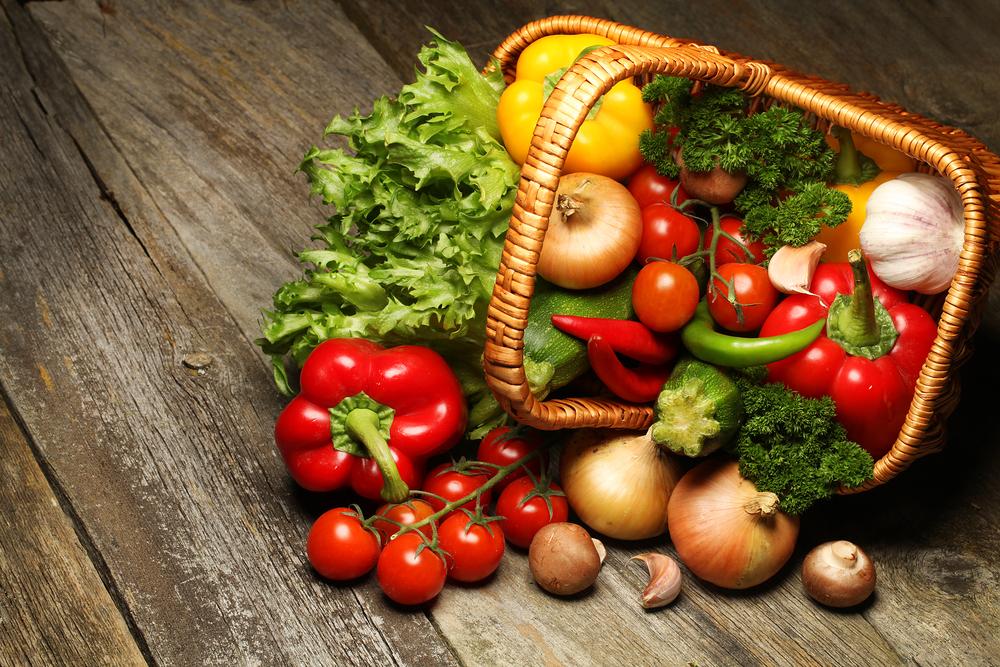 dieta vegetariana, la spesa