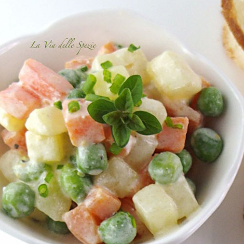 ricetta insalata russa light