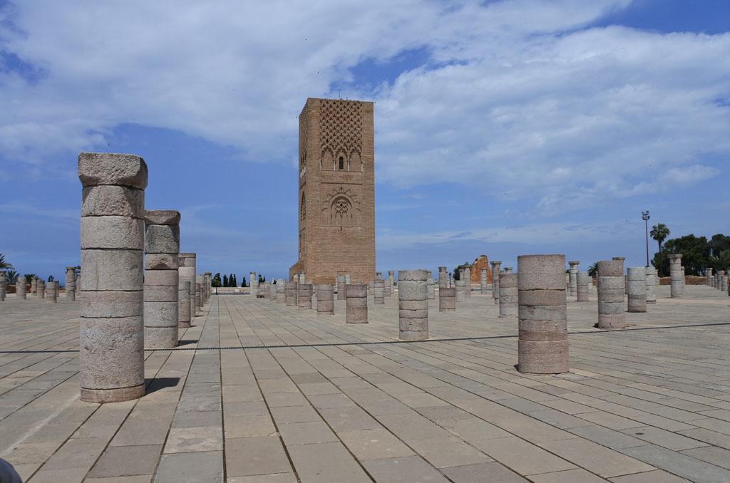 Marocco Rabat moschea torre di Hassan