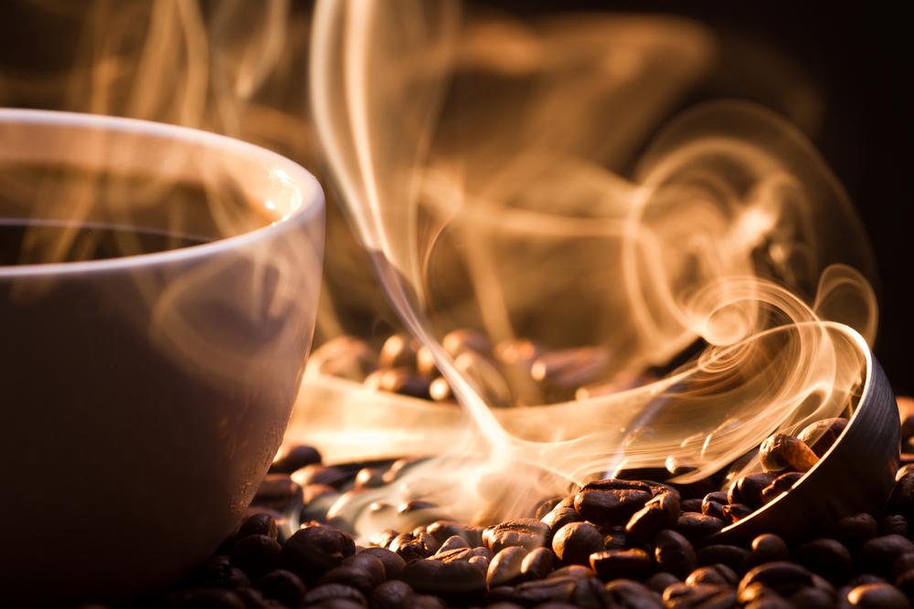 I 7 odori per combattere lo stress: il caffè