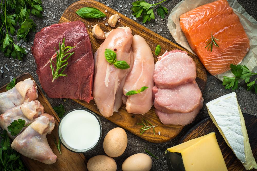 carne, pesce e uova per combattere il freddo a tavola