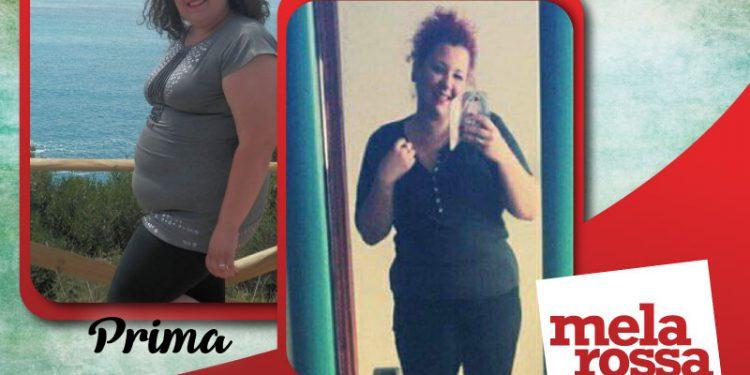 dieta melarossa stefania 22 kg