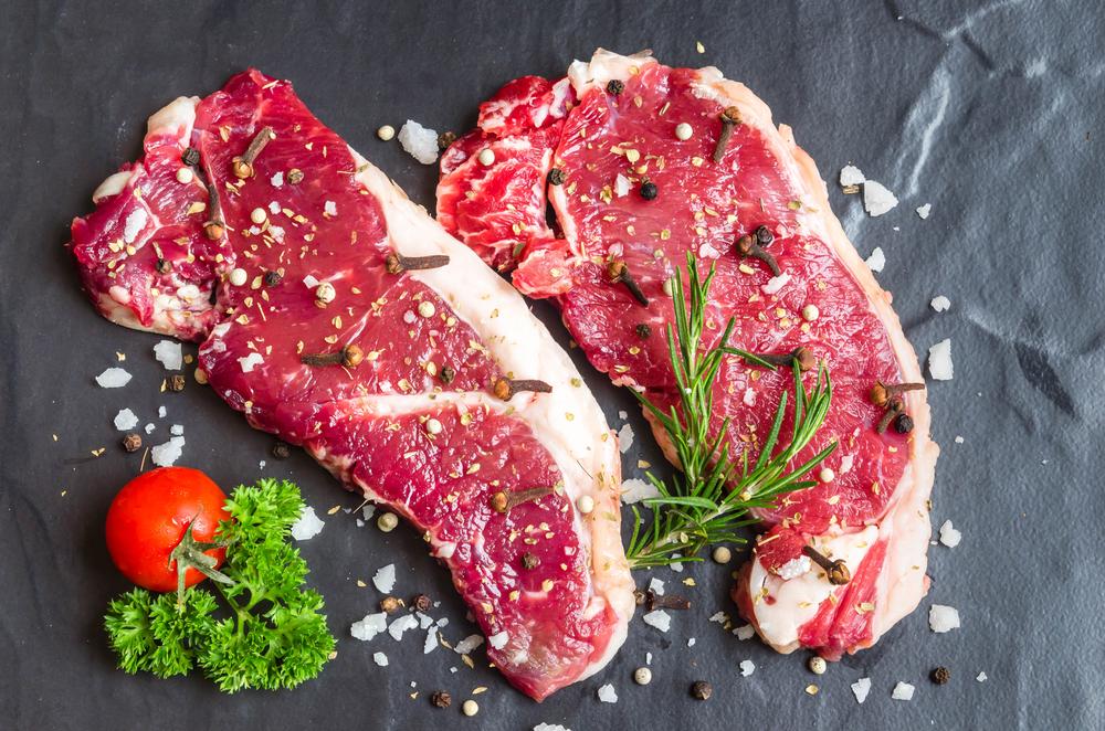 dieta per capelli e unghie: carne di manzo