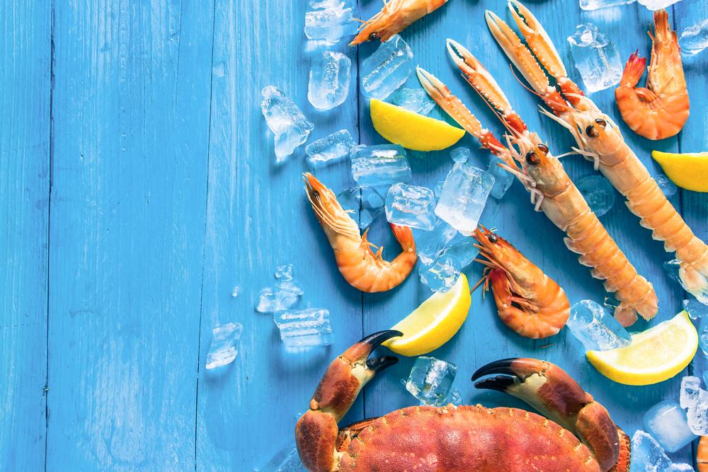 dieta per capelli e unghie sani: frutti di mare