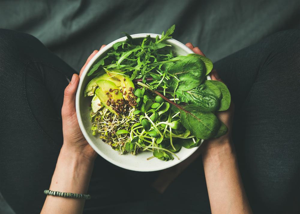 dieta per capelli sani: alimenti da integrare: gli spinaci