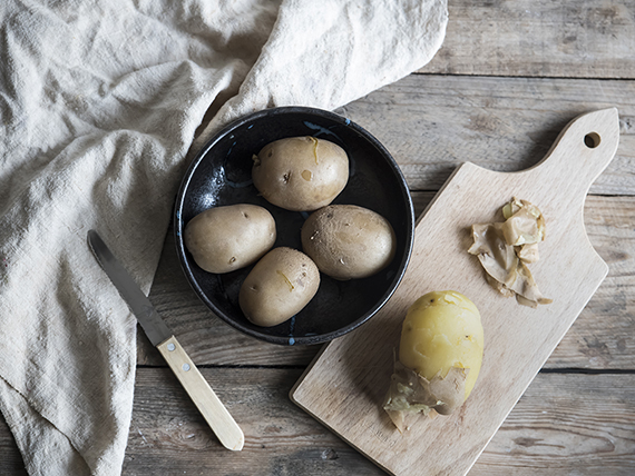 indivia belga e patate al gratin patate