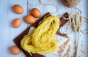 Pasta all'uovo fatta in casa