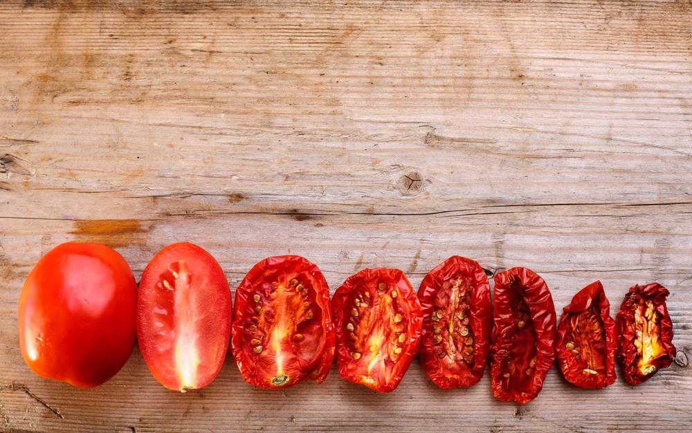 Il licopene nei pomodori secchi