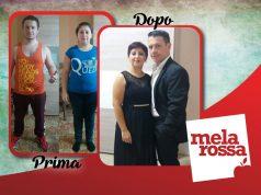 testimonial di successo dieta Melarossa: coppia dimagrita