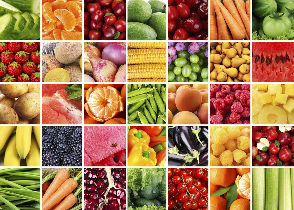 I benefici frutta e verdura di stagione con il calendario mese per mese