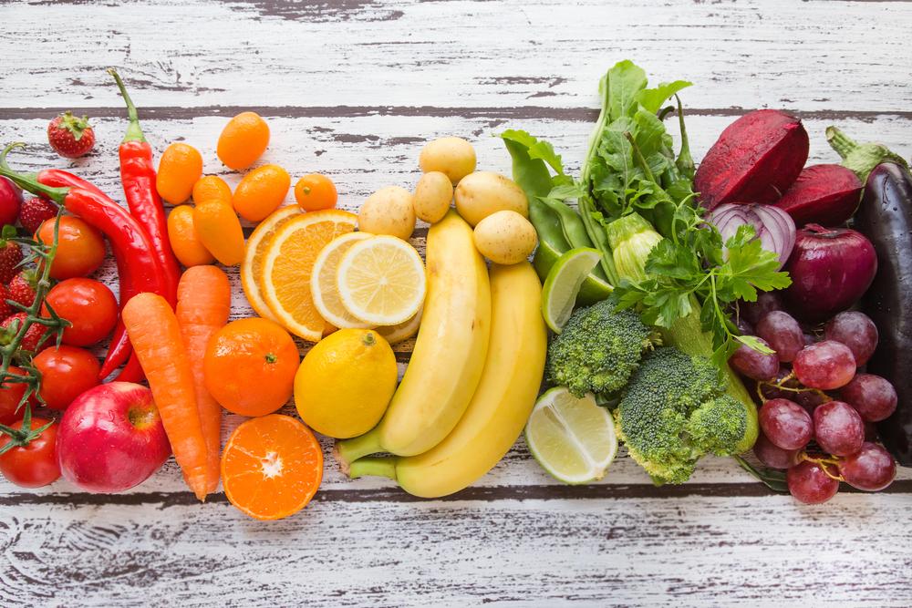 I benefici di frutta e verdura di stagione: gli antiossidanti