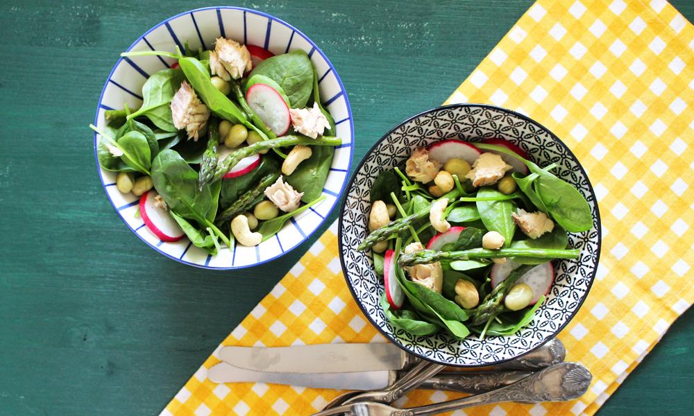 Prova la ricetta dell'insalata di spinacino light e senza glutine