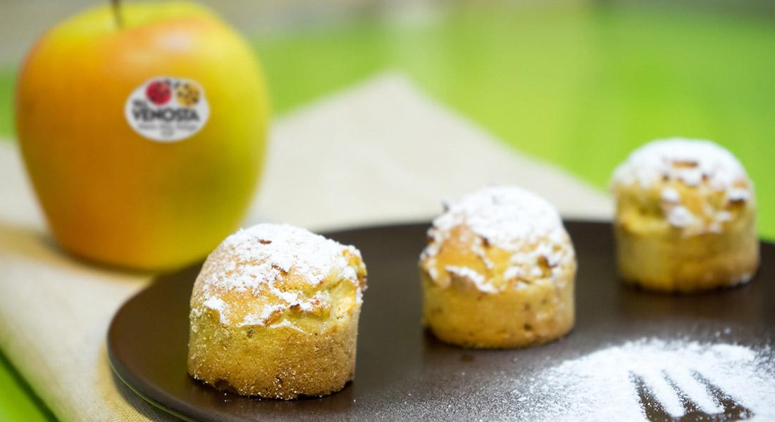 Mini muffin speziati alle mele