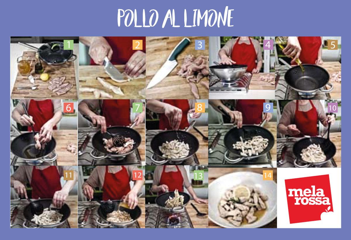 cucinare con la wok : pollo al limone