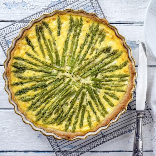 quiche con asparagi ricetta