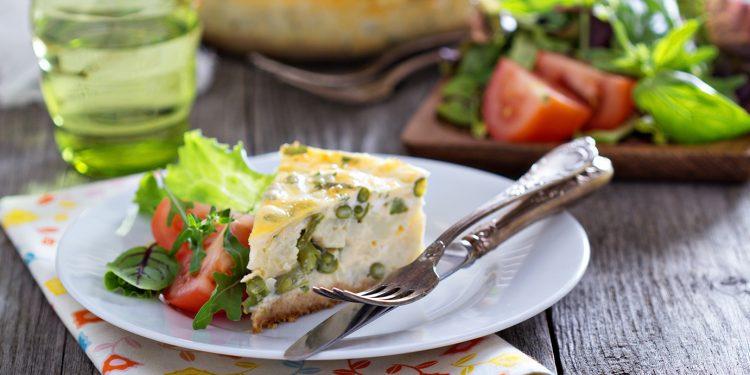torta di fagiolini: ricetta light