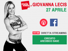 diretta facebook Melarossa: aerobica con Giovanna Lecis