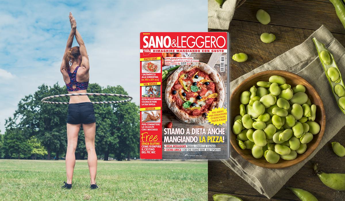 Sano & Leggero maggio 2018 in edicola