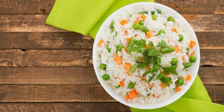 risotto con verdure primaverili